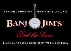Sadly, Banjo Jim's is closing...