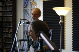 Hazel the Delta Rambler with her husband Larry, live on WWOZ in New Orleans